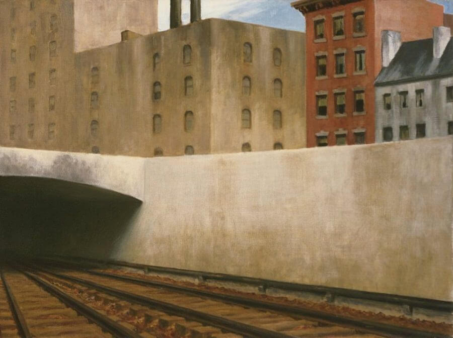 Approaching a City, 1946 by Edward Hopper