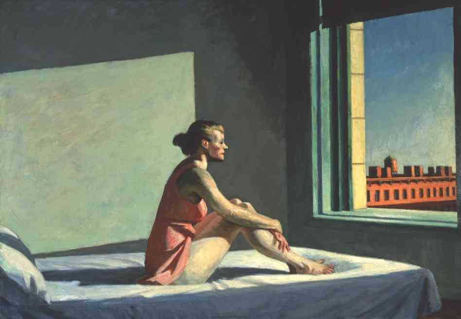 Morning Sun, 1952 by Edward Hopper