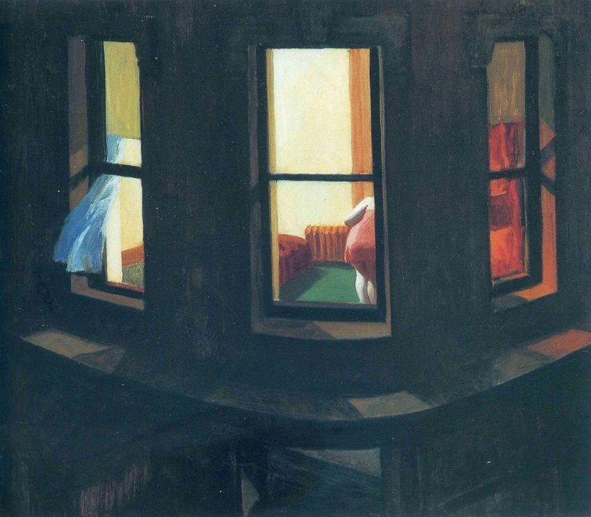 Night Windows, 1928 by Edward Hopper