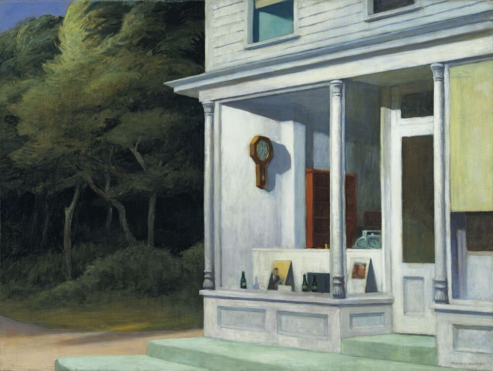 Seven A.M. 1948 by Edward Hopper